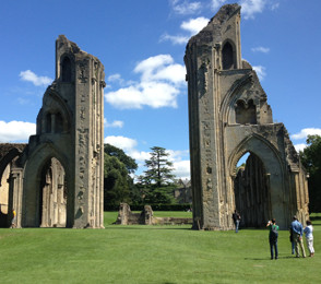 Glastonbury Abbey square